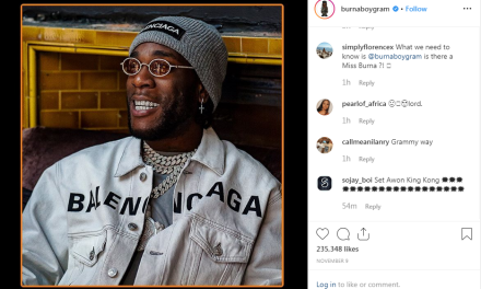 Grammy 2020: Burna Boy reacts to getting nominated