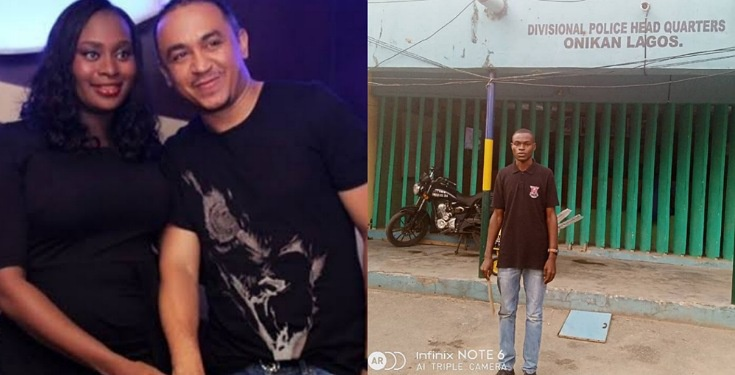 Daddy Freeze and wife finally grab man who dropped sexual comment on son's photo