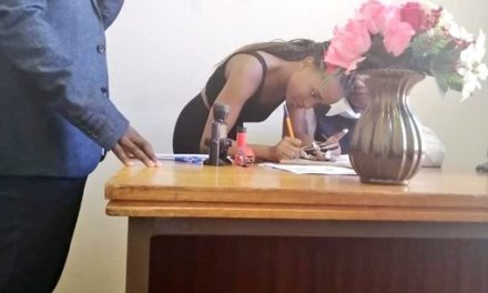 Secondary school students get married after dating for two weeks (Photos)