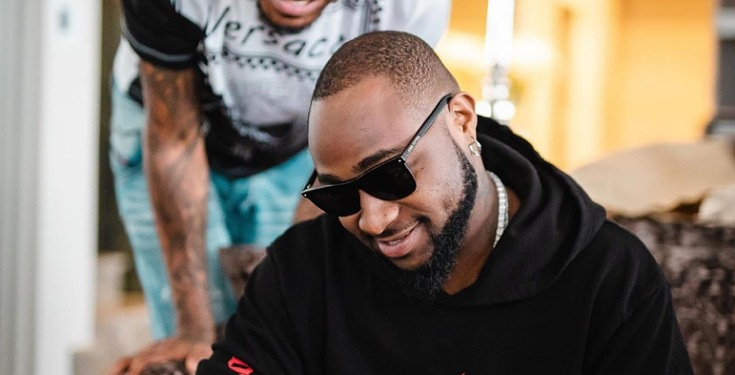 Davido brags about taking a direct flight from the US to Nigeria
