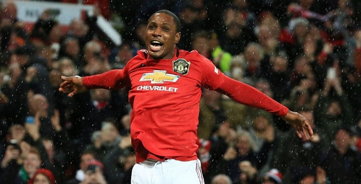 Odion Ighalo nominated for first Man Utd award