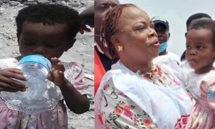 3-Year-Old Girl Rescued Unhurt After Lagos Explosion