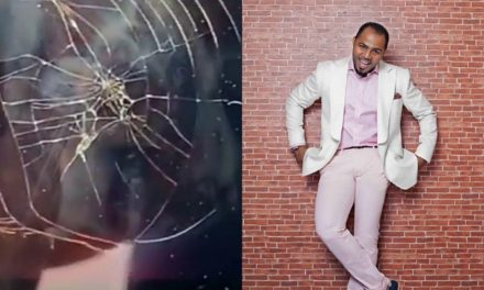 Ramsey Nouah blows hot after TV he purchased for about N500k got damaged in less than a month