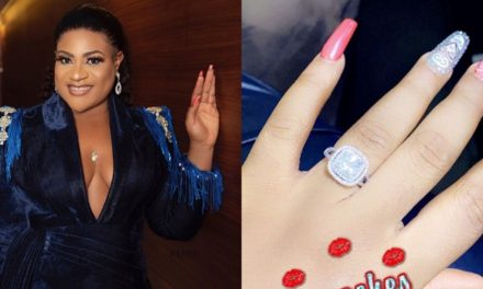 Weeks after being dumped by her fiancé, actress Nkechi Blessing finds love agai