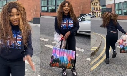 """Coronavirus: """"I'm not coming back to Nigeria. Lockdown in U.K is better"""" – Tacha"""