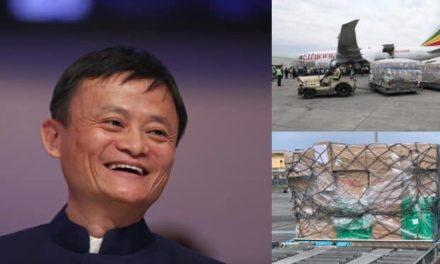 Coronavirus: Chinese billionaire Jack Ma's medical supplies arrives Nigeria
