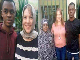 46-year-old American woman arrives Kano to marry 23-year-old man she met on Instagram.