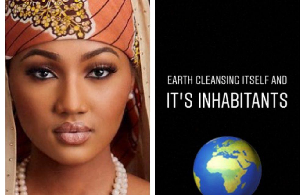 Coronavirus: 'The earth is cleansing itself and it's inhabitants' – Zahra Buhari