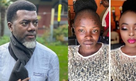 """""""Never marry anyone you haven't seen without makeup""""- Reno Omokri says as he shares incredible makeup transformation of a woman"""