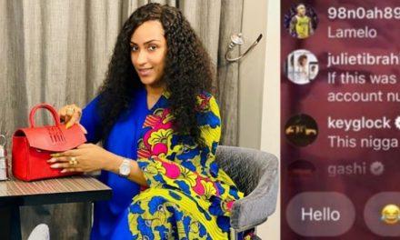 """Low budget Kim Kardashian, Husband snatcher""- Twitter users blast Juliet Ibrahim for calling Africans beggers on live video"