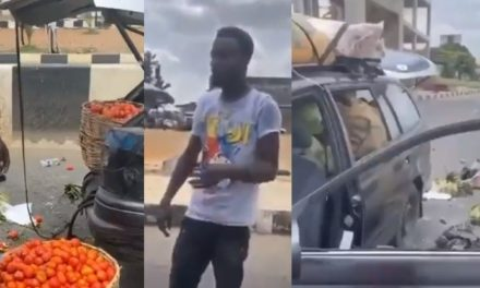 Food vendor's vehicle attacked by hoodlums