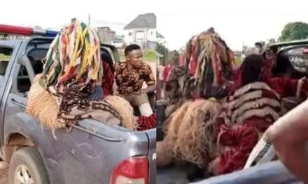 Masquerades arrested for violating stay-at-home order