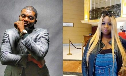 Kelly Hansome releases alleged chat of his baby mama threatening to go diabolical to make sure 'he begs for food'