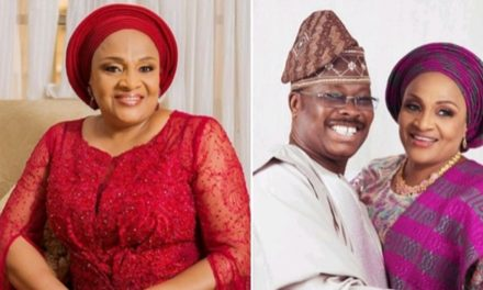 'I caught your dad cheating on me but forgave him' – Ajimobi's wife tells daughter