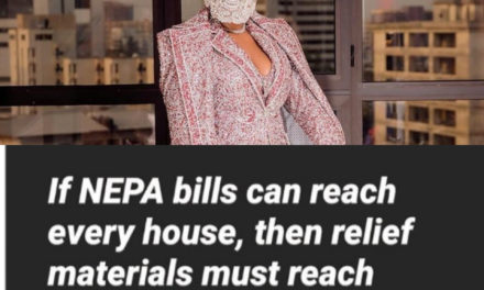 'If Nepa bill can reach every house then relief material must reach every family' – Ifu Ennada tells Federal Government