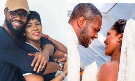 Actress Stephanie Okereke-Linus and husband, Idahosa celebrate 8th wedding anniversary