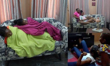Nigerian mother shares adorable bond between her daughters