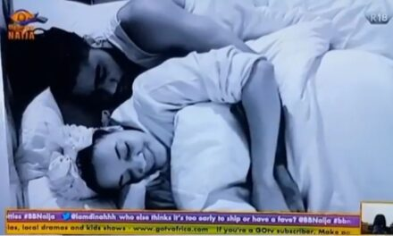 BBNaija: Housemates gossips and get cosy with each other in bed