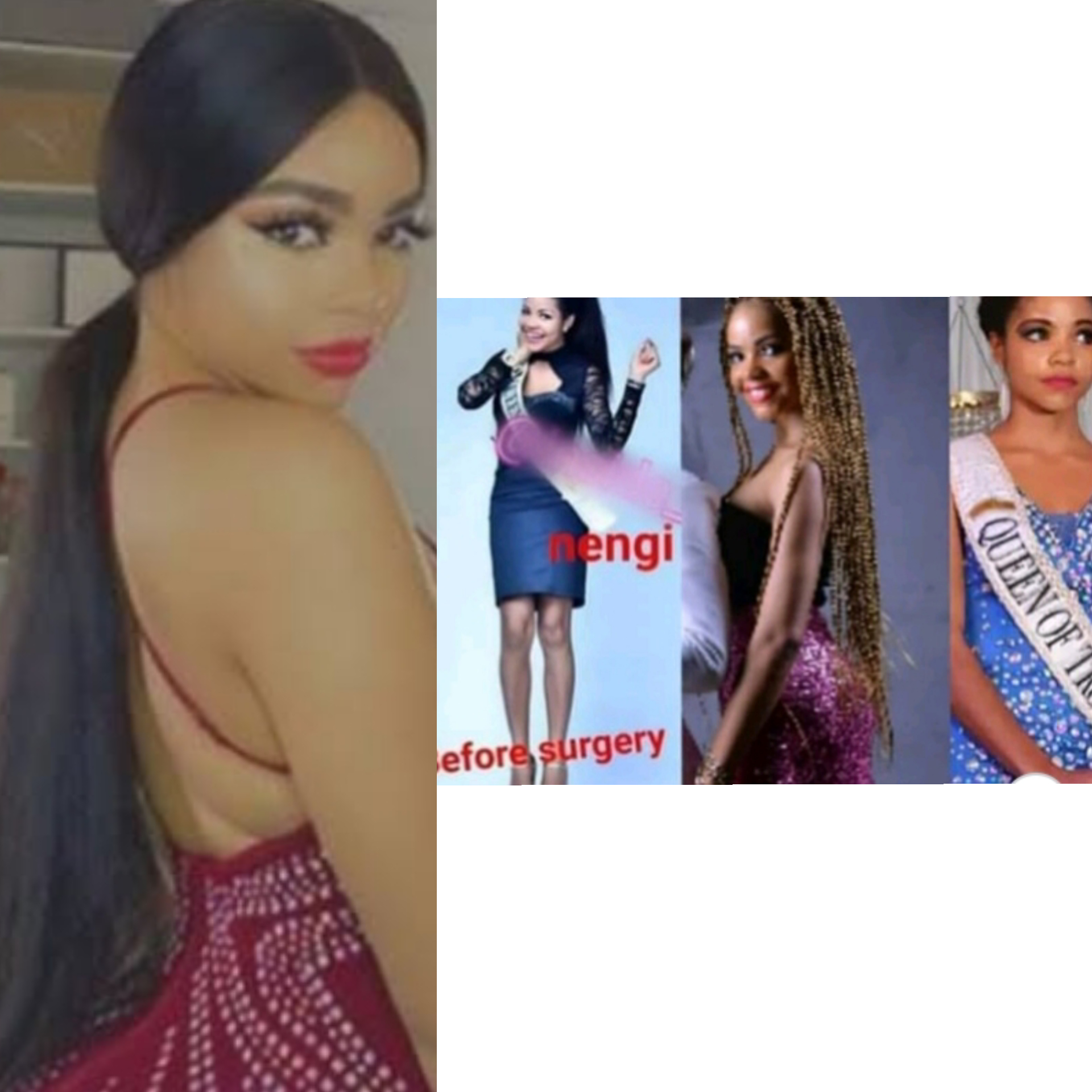BBNaija: Nengi Accused Of Doing Body Enhancement Surgery As Her Old Photos Surfaced