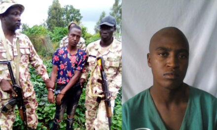 Nigerian Military taskforce re-arrests escaped prison inmate in Plateau state