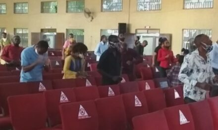 COVID-19: Low turnout as churches reopen in Lagos