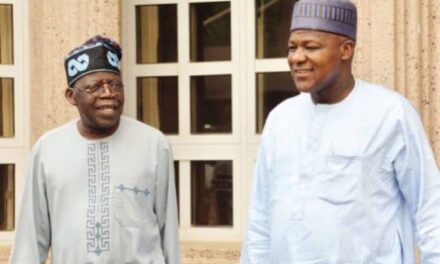 Tinubu, Dogara Campaign Pictures Surface Online For 2023 Presidency