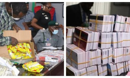 Nigerian Man Arrested With 2,886 ATM Cards Handed To EFCC