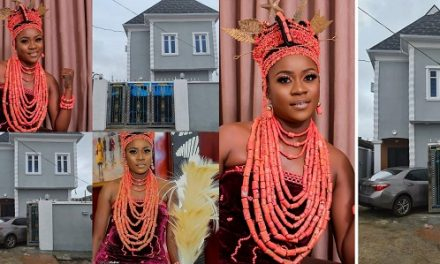 Actress, Olayinka Solomon acquires new mansion for herself