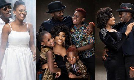 Comedian Bovi celebrates 11th wedding anniversary with beautiful family photos