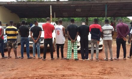 Instagram Celebrity aka Bitcoin Lord, & 13 Others Arrested By EFCC For Internet Fraud
