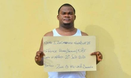 Man posing as an aide to Assistant Inspector General of Police arrested for defrauding 11 people of over N10m