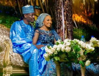Beautiful photos from the wedding of presidential aide, Bashir Ahmad