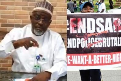 """""""Can you try this nonsense during Obasanjo's time?""""- Ambassador Coomassie condemns #EndSARS protesters"""