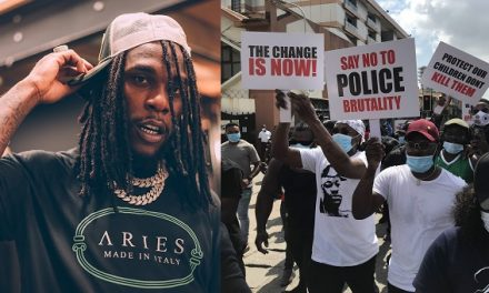 """""""It will get worse but Please LET US NEVER BACK DOWN"""" – Burna Boy writes as he declares his love for Young Nigerians."""