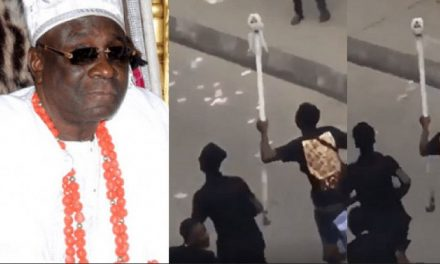 Oba of Lagos' staff of office mysteriously reappears