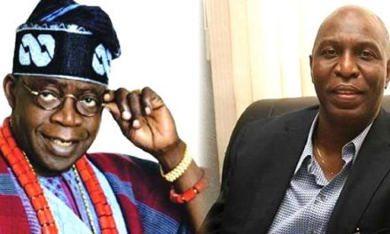 Papers containing fraud charges filed against Tinubu and Alpha Beta were burnt in Igbosere court