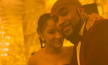 """""""I hereby interrupt your day to let you know that Susu's beauty is TIMELESS"""" _ Banky W about his wife"""