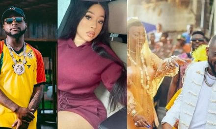 Davido replies lady who called on Chioma to tell Davido to leave her DM alone