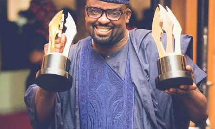 Filmmaker, Kunle Afolayan, celebrates his accomplishments in the business