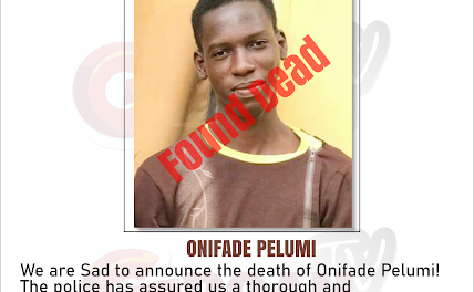 Journalist who covered the scenes at the site of the palliative storage center and was arrested by Lagos State Task Force, discovered dead