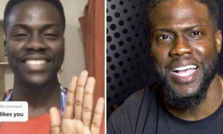 Kevin Hart's Zambian look alike goes viral; the American comedian
