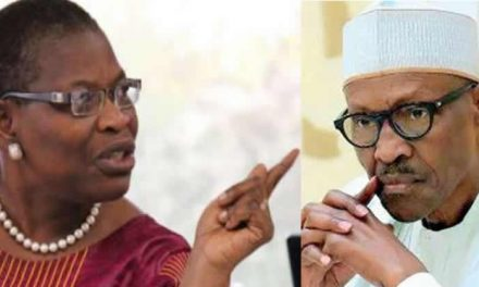 'This is not a military regime Buhari'- Oby Ezekwesili reacts to reports of FG freezing accounts of #EndSARS promoters