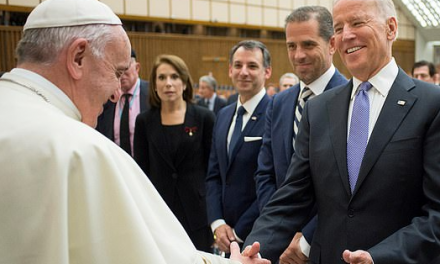 The Pope calls Joe Biden to congratulate him on winning the election and also becoming the second Catholic to do so