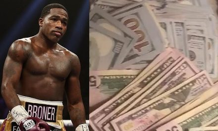 US boxer, Adrien Broner jailed for contempt of court after flaunting cash on IG despite claiming he could not meet court payments because he was broke