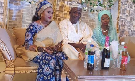 She stole the bride's shine – Nigerians react as first wife 'actively' participates in her husband's wedding to another woman