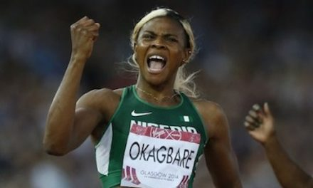 2020 Olympics: Blessing Okagbere provisionally suspended
