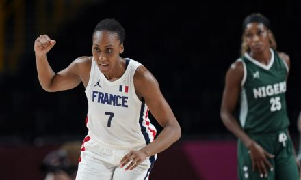 2020 Olympics:  France defeats Nigeria in Female Basketball game