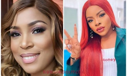 """""""Even Linda won't spend 10m on a single bag"""" – Laura Ikeji's fans are furious about claims that she spent N10 million on a bag."""