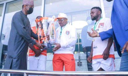 Akwa United are Nigeria Professional Football League Champions!
