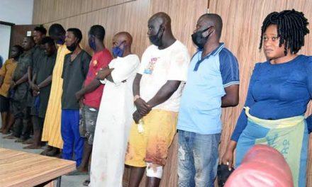 Sunday Igboho's aides' suit adjourned